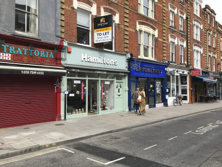 The property is in reasonable decorative order internally with spot lighting, exposed floorboards and traditional shop front as well as an awning. Arranged as open plan accommodation with WC and kitchenette to the rear.  The property is situated at t...