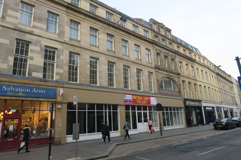 City Centre Location  Opposite Newgate Centre redevelopment planned for 2019  Capable of subdivision  Rear loading and goods lift  GF Sales: 5,884 sq ft  FF Sales: 2,884 sq ft  FF Ancillary: 3,282 sq ft   The property provides a large ground floor sa...