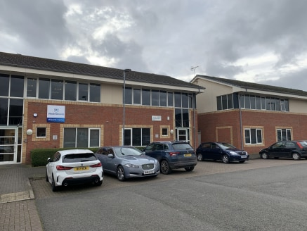 A prime office development in a courtyard setting, of modern construction, built to a high specification. The development is located in a prominent location on Athena Drive in Tachbrook Park.