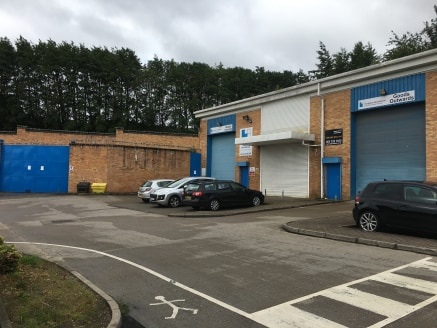 MORDERN INDUSTRIAL UNIT WITH SECURE COMPOUND  Description  The property comprises a semi-detached modern industrial unit of steel portal frame construction with brick and clad elevations under a dual pitched roof covered in insulated profile metal cl...