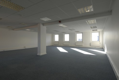 Sovereign Court is a 23,600 sq ft modern five storey office building providing open plan accommodation together with on-site car parking in the heart of Maccleseld town centre, close to a comprehensive public transport system, including intercity rai...