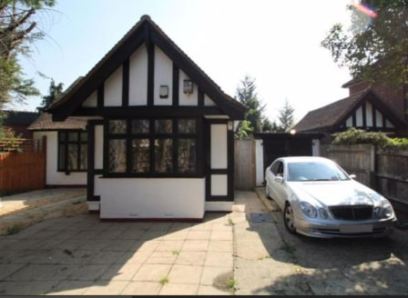 Freehold detached bungalow with planning granted for extensions and conversion creating 2 x 1 bed, 1 x 2 bed & 1 x 3 bed flats.