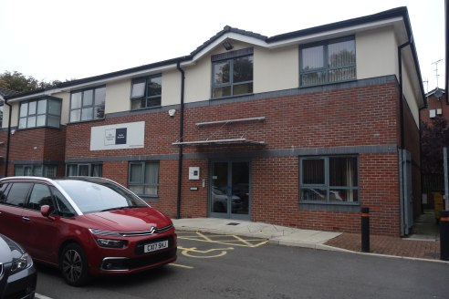 The property is a two storey traditional constructed office, with the following specification:  * Powder Coated Aluminium Double Glazed Units.  * Fully Carpeted.  * Suspended Ceiling with CAT2 Lighting.  * Primitive trunking.  * On Site CCTV Security...