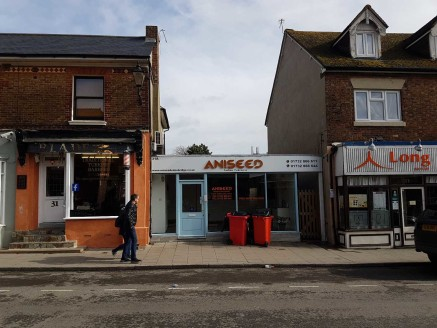 The property comprises a single storey premises with A1, A3 & A5 use - retail, restaurant and take away.\n\nThere is planning consent for a two storey extension to create a self-contained 2 bedroom flat - planning reference - SE/17/03061/FUL\n\nFull...