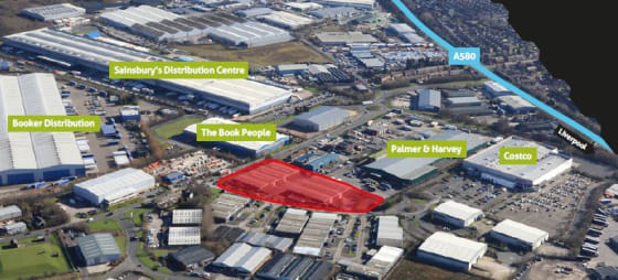 Detached new build industrial unit. 12m eaves height. Dedicated 55m deep service yard. 2 dock levellers, 3 level access doors. 60 car parking spaces. 3-phase electric power 500 kVA. 3,000 sq ft of First Floor offices with WC's and kitchenette. 50 kN/...