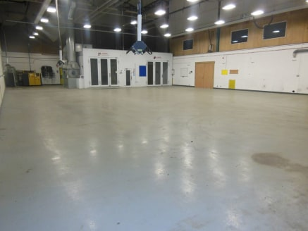 Unit 4 - Industrial unit   Rent includes service charge  Extending to 588.41m² (6,266ft²)  Asking rent £33,840 pax