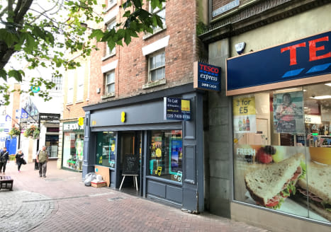 Prime retail property to let comprising 2,150 sq ft on Pride Hill, Shrewsbury.  The property is immediately adjacent to Tesco Express and The Body Shop whilst other occupiers in the immediate vicinity include Hotel Chocolat, Little Waitrose and Cotsw...