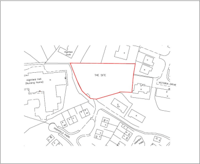 Plot of land with approved planning for the construction of two substantial detached houses, one of 2,998 sq ft and another of 3,800 sq ft. The plot of land is accessed through a gate from Highfield Park between Helmshore and Haslingden and has views...