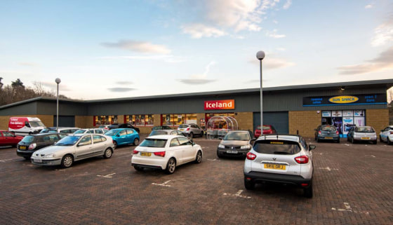"<p class=""p1"">The centre comprises four newly constructed commercial units of which two are currently available. The development is anchored by a very popular Iceland food store.</p>  <p class=""p1"">The units front and are accessed directly from Pitke..."
