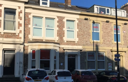 Location  The property is situated on Benton Terrace which forms part of Sandyford Road (B1307), a major arterial route from the City Centre eastwards to the A1058 Coast Road. The immediately surrounding area is in mixed use with offices, residential...