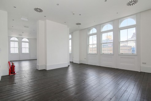 The property comprises a 5-storey attractive period  self-contained office building fitted to a high standard. Natural light is very good with large dual aspect windows on the upper floors.