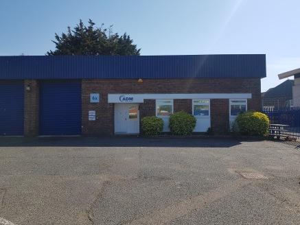 Industrial/Warehouse Premises - TO BE REFURBISHED  Size 3,964 sq ft