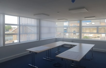 Newly refurbished first floor office accommodation with views over the River Ouse  Total size 386.32 sq m (4,158 sq ft) TO LET