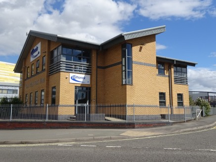 The subject property comprises an attractive and prominent detached modern office building of traditional steel portal frame construction with brick and block elevations beneath a pitched steel clad roof.   Internally, the property provides two floor...