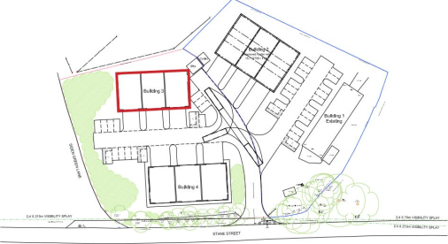 New build industrial / warehouse units  From 1,280 sq ft to 3,840 sq ft