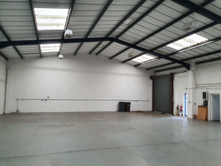 Open plan industrial units  Ranging from 1,507 sq ft - 3,087 sq ft