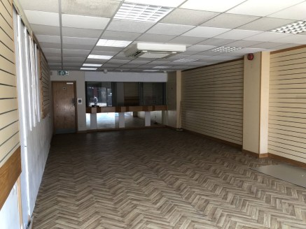 The property comprises a ground floor shop retail with First floor stores or offices. The unit has prominent frontage to High Street and rear servicing. The unit could be ready for immediate occupation subject to tenant's shop fitting....