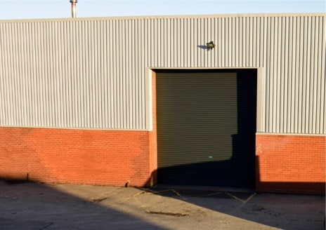 The newly refurbished industrial unit of steel portal frame construction with brick/block and part clad elevations surmounted by a pitched roof incorporating translucent roof lights. The warehouse area benefits from a painted concrete floor, lighting...