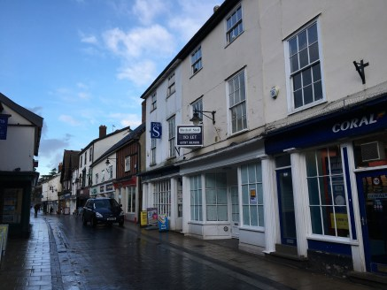 The property, a Grade II Listed building, comprises retail accommodation on the ground floor with self-contained ancillary accommodation on the first floor, accessed over the rear flat roof and an additional two rooms located on the second floor whic...