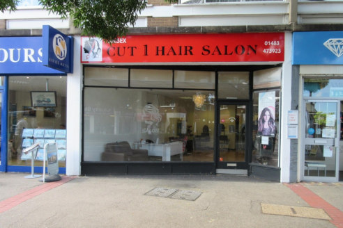 A1 retail unit on Knaphill High Street