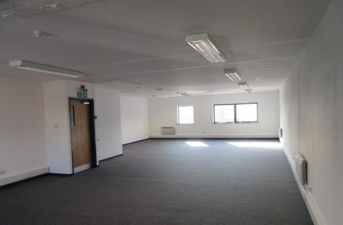 First floor office/production accommodation