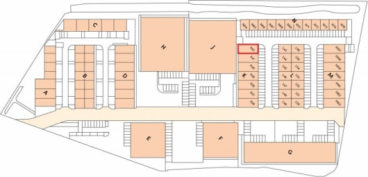 End of Terrace Warehouse / Industrial Unit To Let   Total GIA 183.76 sq m (1,978 sq ft)