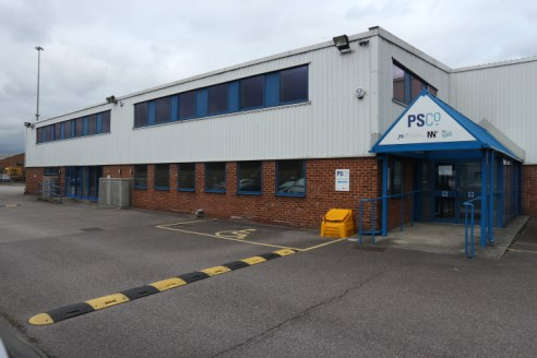 Refurbished industrial / warehouse with excellent car parking, large circulation area for HGV's and quick access to junction 11 of the M4 motorway.