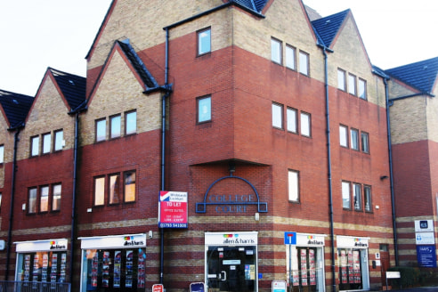 College Court is prominently located at the eastern end of Commercial Road, close to Regent Circus and town centre retail areas. It is an established location for the financial and professional services such as insurance brokers, estate agents and re...