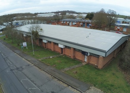 Commercial Warehouse/Industrial Units from 2,003 sq ft - 10,039 sq ft GIA. Three units prominently positioned at the entrance to Hampton Lovett Industrial Estate Droitwich.