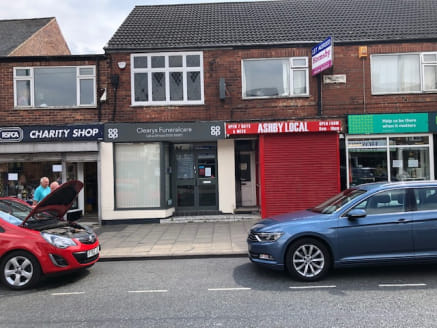 The property forms part of a parade of shops and comprises a small ground floor shop with small staff, w/c and loading area to the rear. Further accommodation is available on the first floor which benefits from separate access if required. To the rea...