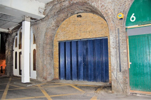 Town Centre. Open Plan Storage. Full Length Arch.