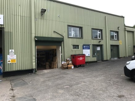 The unit is of steel portal frame construction with steel cladding upon brick and concrete block elevations.   The premises have been previously used as general storage / trade counter with office space. There is also kitchen and WC facilities.   The...