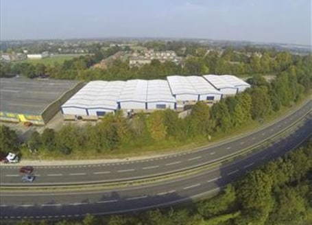 Modern high quality recently refurbished warehouse/industrial unit of steel frame construction with external profiled metal cladding and internal brick walls. The property provides clear storage space accessed by two roller shutter doors. The buildin...