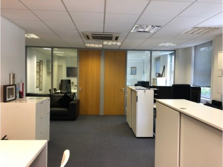 First floor office suite with on site parking