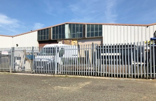 The property comprises a terraced industrial unit incorporating single storey offices to the front within a larger block of similar units. It is of multi-bay steel portal frame construction with full height blockwork separating walls and blockwork wa...