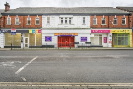 A well-appointed ground floor shop to rent on a busy main road in Horwich.\n\nOffering ample space, with 375 sqft of prime ground floor retail space, first floor staff kitchen, washroom and storage room / office space....