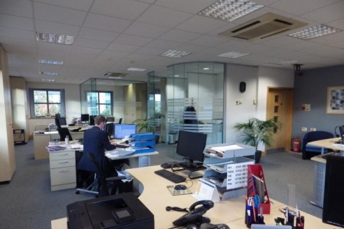 Self-contained office building for Sale - 50% Income Producing Long Leasehold
