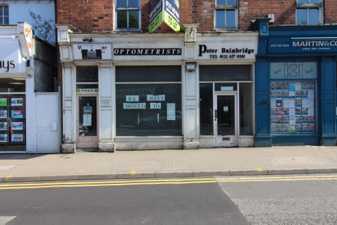 DOUBLE FRONTED retail premises on HARBORNE HIGH STREET - Total NIA 3,894 ft2 (361.75...
