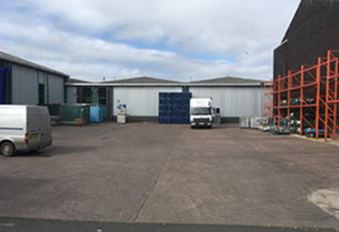 TO LET (FLEXIBLE LEASE TERMS): Self-Contained Manufacturing / Warehouse Premises 36,288 SQ FT (3,371.23 SQ...