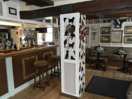 Established Freehouse For Sale In Southam\n\n2 Bedroom Accommodation Above\n\nRef 2103\n\nLocation\n\nThe Black Dog public house is a grade II listed Georgian Regency property located in the ever expanding market Town of Southam, Warwickshire. It sit...