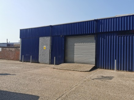 Industrial/Warehouse Unit  Size - 3,182 sq ft