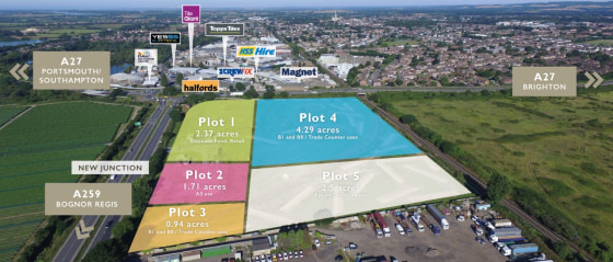 Cathedral Business Park is a prominent 12 acre roadside site with planning consent for retail, food and business uses.  Other uses, sizes and a division of the buildings will be considered. Further information available on request.