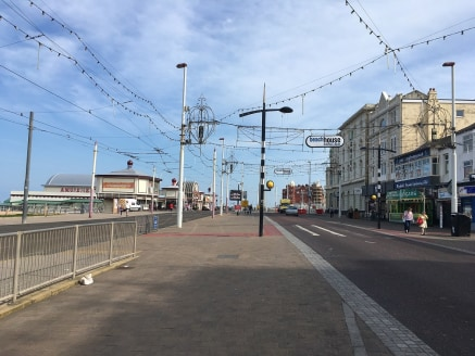 A substantial premises located in a prime location on the famous Blackpool Golden Mile adjacent to Blackpool Tower. The property provides a sales area approx 93 sqm (1000 sqft) plus first floor storage 70 sqm (750 sqft)....