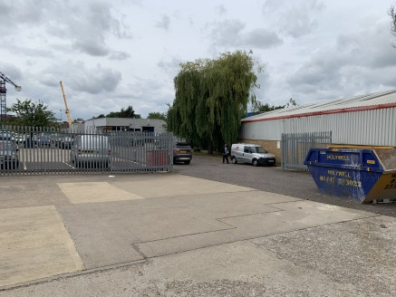 Qualitas House is a modern warehouse facility which provides approximately 9,894 sq ft of storage and distribution space. The unit sits within a secure gated yard with parking for approximately 20 cars, which is accessed through the Crystal Centre Bu...