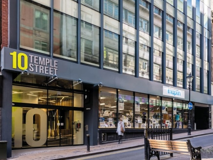 Providing high quality offices to let, 10 Temple Street offices Birmingham are located on one of the prime pedestrian commuter routes in the city. Temple Street links the much-lauded, newly-opened New Street Station and Grand Central shopping centre....