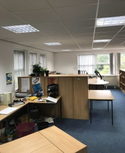Building 1 Ash Court comprises an end terrace brick office property arranged over ground and first floors.   WC's and kitchen are shared.  High speed internet via ''Fibrespeed'' is available with connection at nil cost  First Floor - 600 SQ FT - £7,2...