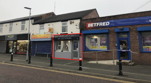 Retail unit comprising 507 sq ft on a well established retail parade close to St Helens town centre.  The premises are available by way of new Full Repairing & Insuring lease at an annual rental of £7,000 per annum exclusive.