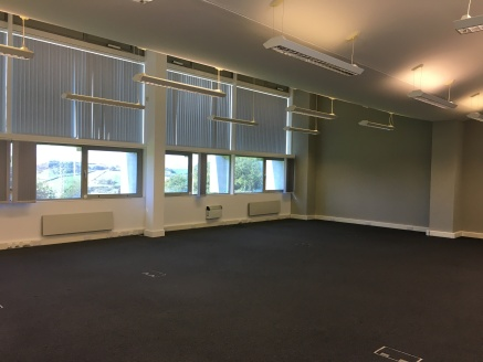 First floor office with shared kitchen and WC.<br><br>Lift and shared shower room.<br><br>The complex has a deli-bar and meeting rooms available.<br><br>Ample parking on-site.<br><br>Terms: Rent: &pound;34,500 p.a.<br><br>Size: 183....