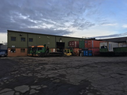The subject property comprises a industrial complex consisting of two neighbouring buildings and associated yard area.  Building 1 comprises a modern steel portal frame industrial unit with concrete block and brick elevations being part profile sheet...