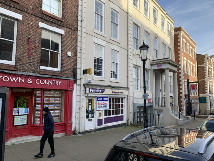 35 Lower Bridge Street is a former news agent premises but suitable for a variety of uses subject to planning consent required.  The property is a self-contained lock up shop unit with single glazed shop front and single glazed timber pedestrian door...